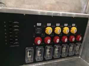 Custom Battery Cluster Panel