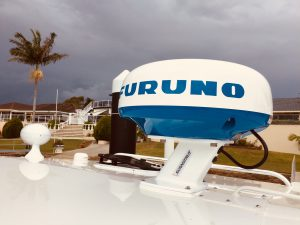 DRS4L+ Furuno Radar Scanner and Scanstrut Radar Mount