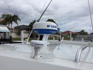 Furuno DRS4DL+ Radar and GPS Antenna